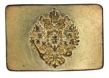 Buckle Oktoberfest cintura fibbia con vecchi stemma in ottone antico