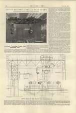 1920 120 Ton Electric Forging Shop Crane Telescopic Cage Arroll