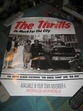 The Thrills-(so much for the city)-1 Poster-18X24-Nmint-Rare
