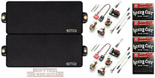EMG 81-7H + 85-7H BLACK 7 STRING HUMBUCKER VERSION ACTIVE PICKUP (4 STRING SETS)