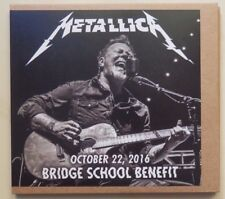 METALLICA live MOUNTAIN VIEW CALIFORNIA 22 oct 2016 BRIDGE SCHOOL BENEFIT