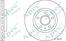 1x OE Quality Replacement Front Axle Apec Vented Brake Disc 5 Stud 321mm - Pair