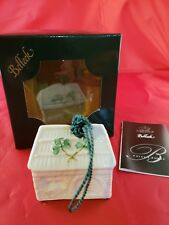 Belleek Christmas Ornament~Forge Annual 2932~16th Ed~Parian China~Ireland~In Box