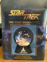 Star Trek Enterprise Lighted 55mm Sparkler Water Globe NEW UNUSED BOXED