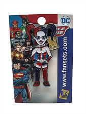 Dc Justice League Harley Quinn Fansets Metal Enamel Pin Adult Collectible New