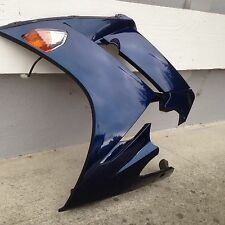Used OEM 2006 Yamaha FJR1300 left side body panel, deep blue 3P6-Y283J-20-P0