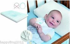 MEMO BABY MEMORY FOAM PILLOW PREVENTS FLAT HEAD SYNDROME AND PLAGIOCEPHALY