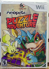 Neopets Puzzle Adventure Nintendo Wii Game BRAND NEW FACTORY SEALED