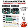 HiFi Stereo 2.0 Channel Power Amplifier DIY Kit & Assembled Board Refer MX50 SE