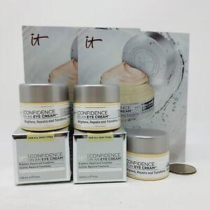 3x it Cosmetics CONFIDENCE IN AN EYE CREAM - 0.169 oz/5ml Each=Full Size NIB