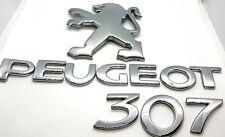 PEUGEOT 307CC 03-09 REAR BOOT TAILGATE /'PEUGEOT /' LETTERS BADGE EMBLEM LOGO