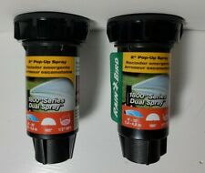 "Lot  of 2 Rain Bird 1800 2"" Pop-Up Half 1802HDS"