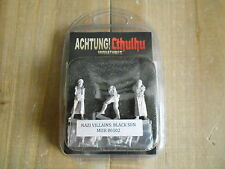 ACHTUNG! CTHULHU - Antagonistas Nazis: Sol Negro - rol - miniaturas 28 mm. WWII