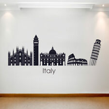 Large Wall Decal Sticker Art Removable Waterproof Vinyl Transfer Country Italy