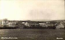 Milford, Hartland by Headon. Field & Village.