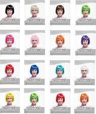 femmes - Filles carré court tête Intégrale Perruque / COSTUME Déguisements de