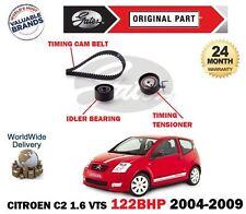 Para Citroen C2 1.6 VTS NFS 16V 2004-2009 Gates Leva De Sincronización Tensor Correa de Kit