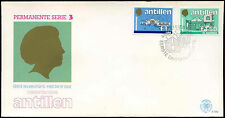 Netherlands Antilles 1985 Local Government Buildings Definitives FDC #C26751