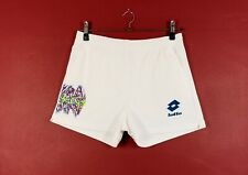 Men's Vintage 90's Lotto Sports Shorts In White Size W32 to 36