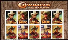 US  4446-49  Cowboys 44c - Top Header Plate Block of 10 - 2010 - MNH - P1111