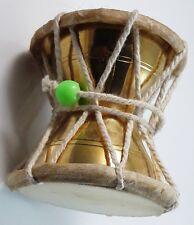 Handmade Damroo Lord Shiva Positive Energy Brass Damaru (7 x 7 cm) Kirtan SP-15