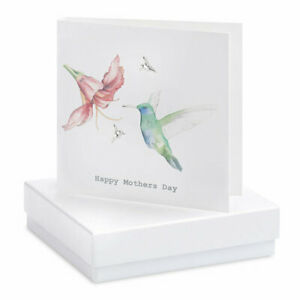 Crumble and Core Greeting Card and Earring Boxed Set    Happy Mothers Day