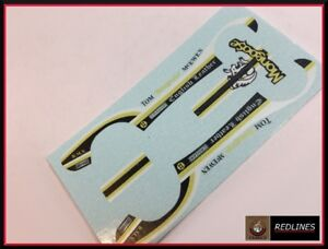 1979 Hot Wheels 'English Leather Vette' RARE Color Reproduction Decal SCR-0184