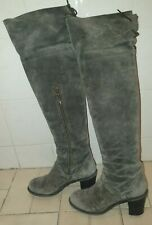 FIORENTINI + BAKER  SUEDE OVER KNEE BOOTS SIZE 39 UK6