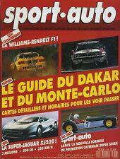 SPORT AUTO n°336 01/1990 avec encart & poster