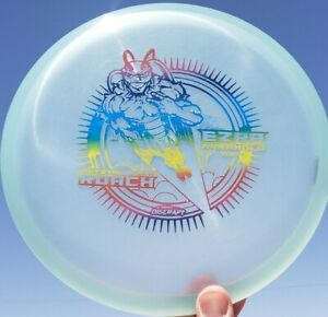 New Discraft Cryztal Z Glo ROACH Ezra Aderhold OTB 174g Light Blue Rainbow