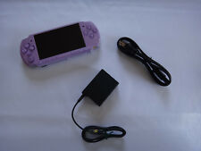 Sony PSP 3000 Lilac Purple Handheld Console + 8GB Memory PlayStation Portable