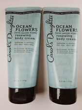 (2-PK) Carol's Daughter Ocean Flowers (w/Marine Algae) Renewing Body Cream 6 oz.