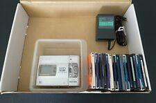 sony mz-50r+ adaptor + 16ea mini disc