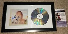 SINGER KATY PERRY SIGNED PRISM CD COVER FRAMED AMERICAN IDOL SEXY GRAMMY JSA