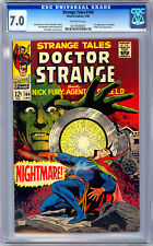 STRANGE TALES #164 CGC 7.0 STERANKO STORY & ART NICK FURY & DOCTOR STRANGE 1968
