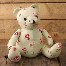 Bear Doorstop - Floral Fabric Door Stop