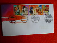 2000  AUST MULTI ARTS FESTIVAL FDC WITH 4 DIFFERENT  POSTMARKS