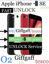 iPhone SE 2020 UNLOCK FAST✅ O2/Giffgaff/tesco Uk✅3-4Days✅only IMEI Required✅✅✅