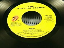 ROLLING STONES - Angie / Silver Train - NEAR MINT 1973 CANADA PRESS 45