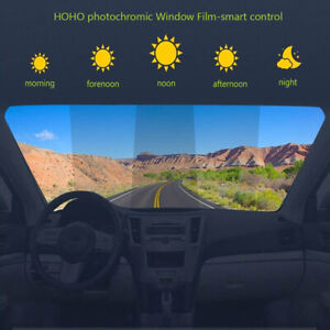 25%-69%VLT Window Tint Film Car/houseSolar Tint Heat Rejection Photochromic Film