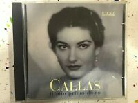 MARIA CALLAS CD OPERA ARIAS OPERNARIEN AIRS D'OPERAS MASSENET ROSSINI MOZART