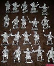 Bretonnian Men At Arms, War of the Roses Medieval, 20 metal models, Warhammer