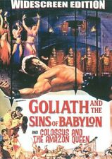Goliath and the Sins of Babylon/Colossus and the Amazon Queen (DVD 2007) New (G)