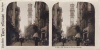 Verona Torre Di L Orologio Italia Foto Stereo Vintage Analogica