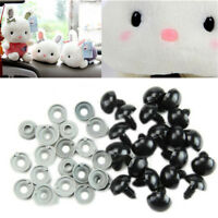 100Pcs/Set Plastic Safety Eyes For Teddy Bear Doll Animal Puppet Crafts