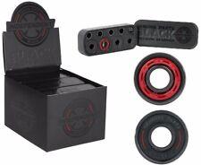 Independent Genuine Black Precision 8mm Skateboard Roller Skate Bearings One Set