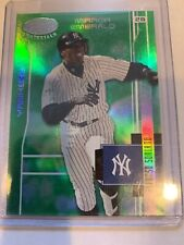 2003 leaf certified Mirror Emerald Yankees Alfonso Soriano 4/5