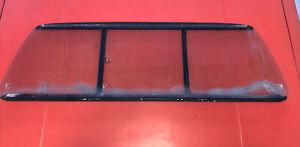 VW MK1 Rabbit Caddy Truck Rear Window Sliding Glass Assembly OEM