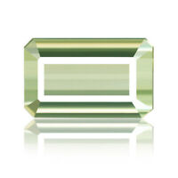 Flawless Tourmaline 10.27ct sea green color 100% natural earth mined Mozambique