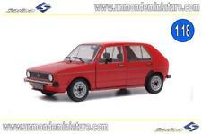 Volkswagen Golf L 1983 Red SOLIDO - SO 1800204 - Echelle 1/18